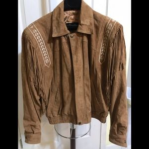 Beautiful BoHo Chic 🍁Leather Suede FRINGE IS IN
